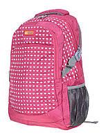 Рюкзак молодежный городской GORANGD Сердечки, фото 1