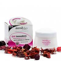 Крем против старения с елементом Q10 Derma V10 anti-wrinkle Cream