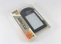 Портативный аккумулятор POWER BANK SOLAR + LED фонарик 10800 mAh (реальная емкость 4500) UKC