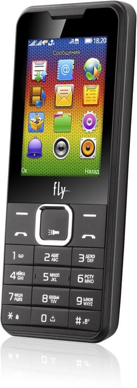 Мобильный телефон с мощной батареей Fly FF243
