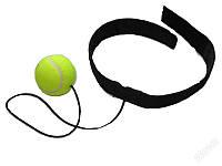 Теннисный мяч на резинке