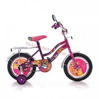 Детский двухколесный велосипед winx 18 дюймов