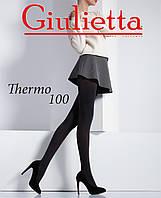 Колготки женские Теплые из Микрофибры  THERMO 100 GIULIETTA