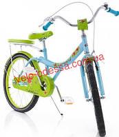 Детский двухколесный велосипед strawberry 18 дюймов