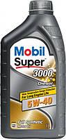 Моторное масло Mobil Super 3000x1 Diesel 5W40 1L