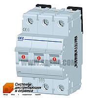 Автоматический выключатель  LPN-63C-3 10кА (OEZ)