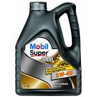 Моторное масло Mobil Super 3000x1 Diesel 5W40 4L
