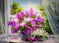 Алмазная вышивка Цветы лета 40 х 50 см (арт. FR385) , фото 1