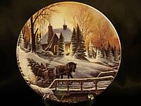 Декоративная тарелка Lefard Зима 15 см 451-146