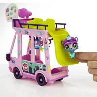 Littlest Pet Shop - Маленький Зоомагазин Автобус,(Игровой набор LPS серия Маленький Зоомагазин Автобус  B3806)