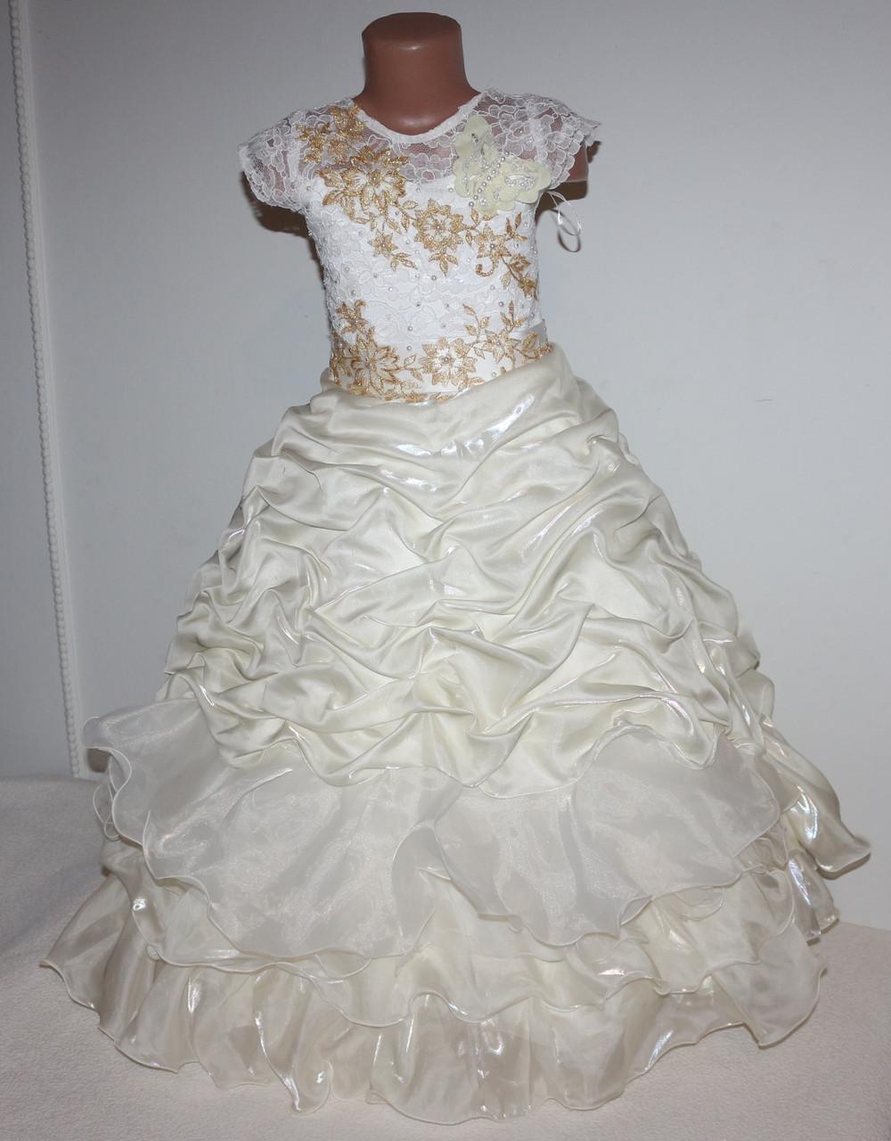 Платье нарядное (корсет) 5-8 лет