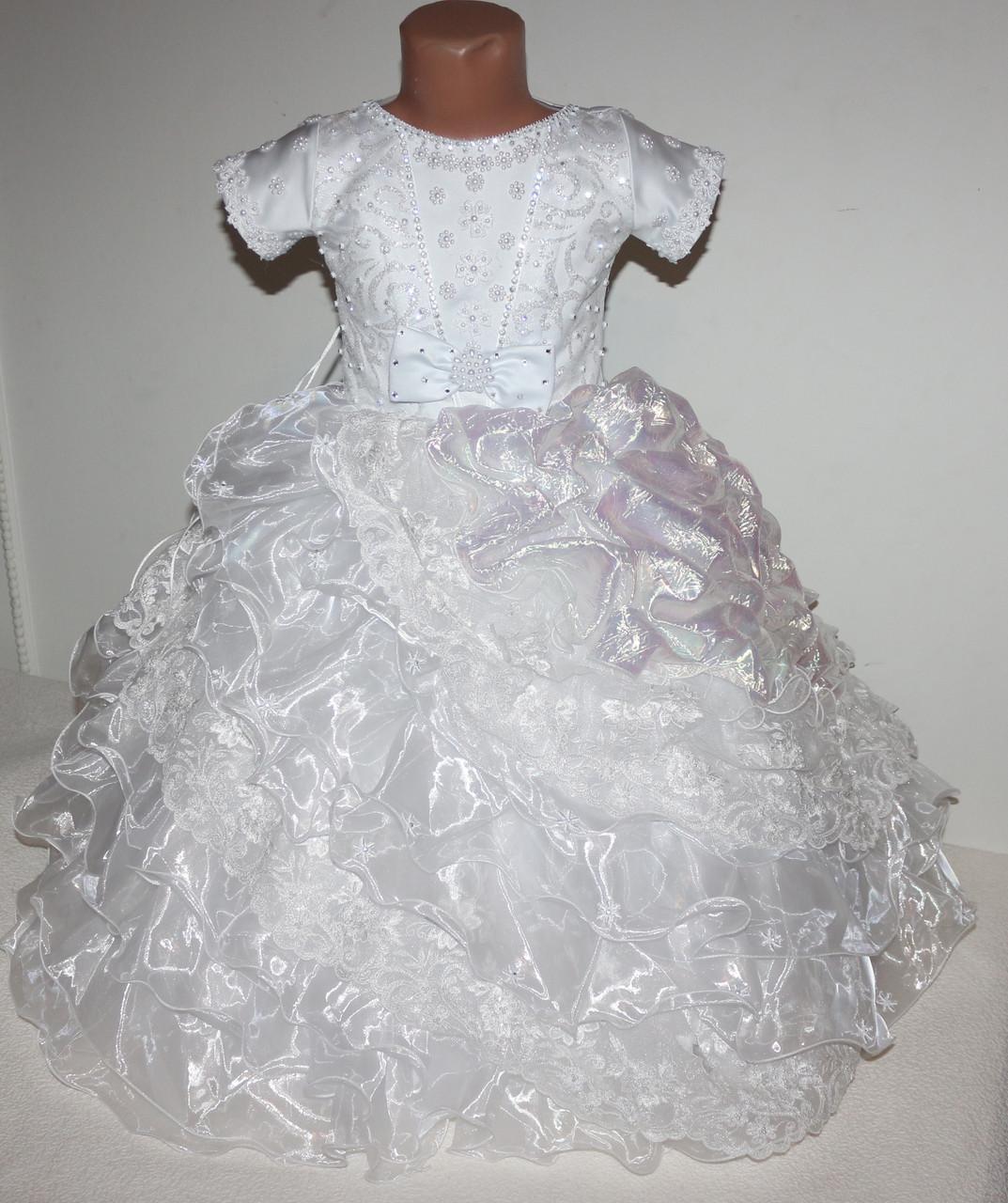 Платье нарядное (корсет) 3-7 лет