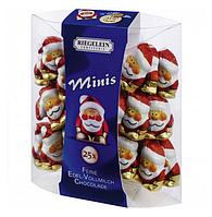 Шоколадные фигурки санта Riegelein Chocolade Minis, 100 г.
