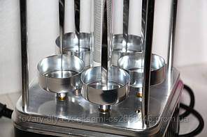 Электрошашлычница Domotec (6 шампуров) , фото 2