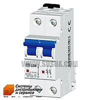 Автоматический выключатель LSN 0.8С/2 10кА (OEZ)