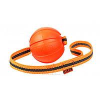 Collar Liker Line 7 мяч-игрушка на ленте с петлей для собак мелких и средних пород, 7х35см