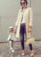 Набор пальто мама и дочка или сын