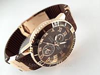 Мужские часы - Ulysse Nardin - LeLocle на коричневом каучуковом ремешке с вращающимся безелем