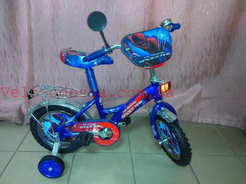 """Детский двухколесный велосипед """"Y""""Spider man 20 дюймов"""
