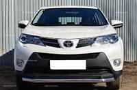 Защита переднего бампера Toyota Rav 4