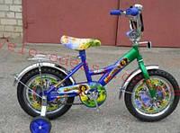 Детский двухколесный велосипед мадагаскар 20 дюймов