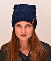 Зимняя женская шапка на флисе Стелла, размер 54-58 см