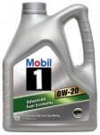 Моторное масло Mobil 1 0W20 4L