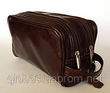 Косметичка - несессор мужской, кожа GLOBOS 03-14 продажа, фото 3