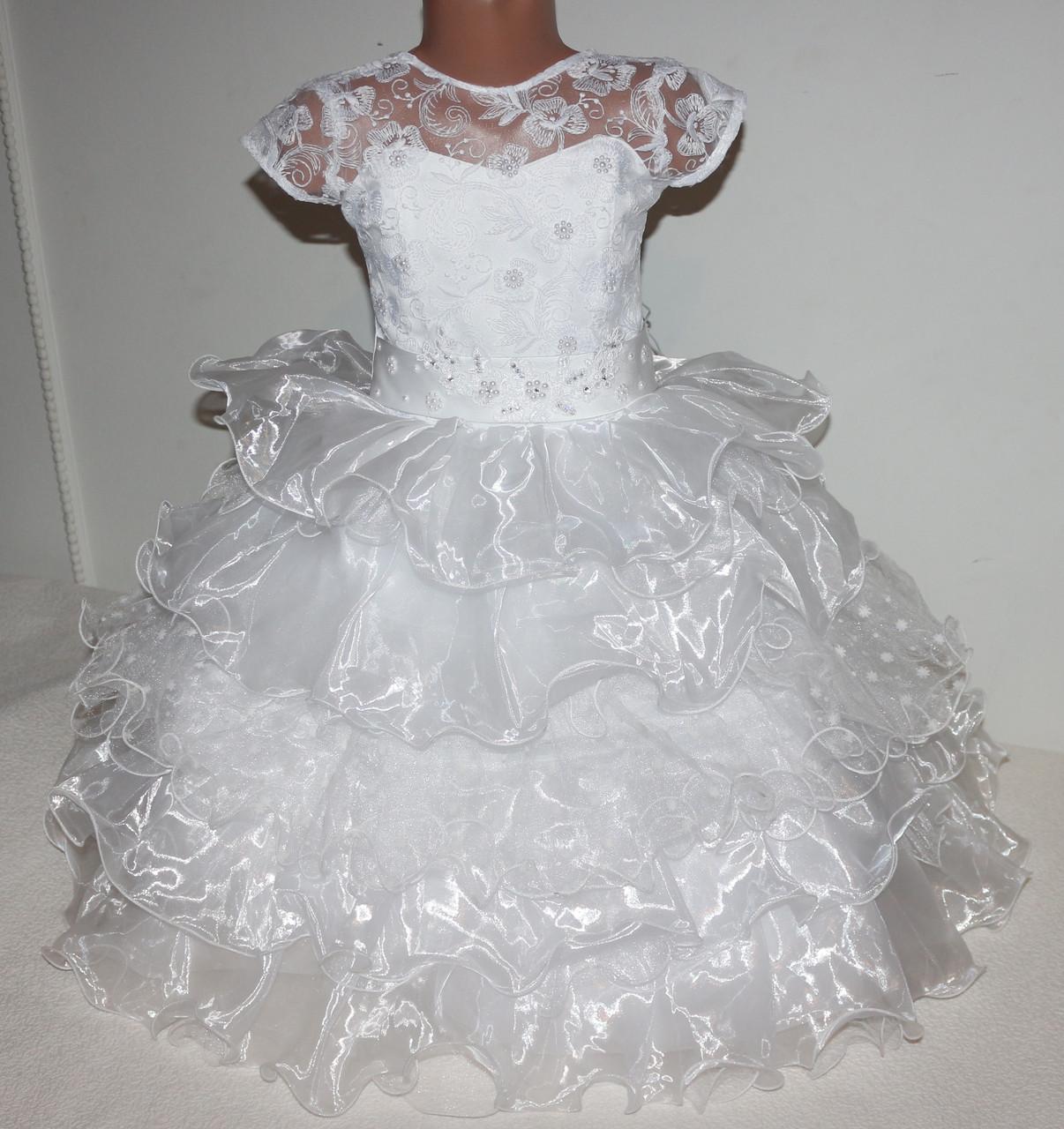 Платье нарядное (корсет) 4-7 лет