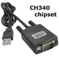 USB-COM кабель RS232 чип CH340