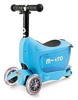 Самокат Micro Mini2go Deluxe Blue, фото 1