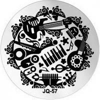Диск для стемпинга JQ-57