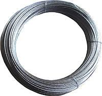 Трос стальной оцинкованный 2 мм