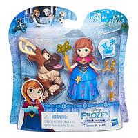 Игровой набор маленькие  куклы Холодное сердце  с другом в ассорт. B5185