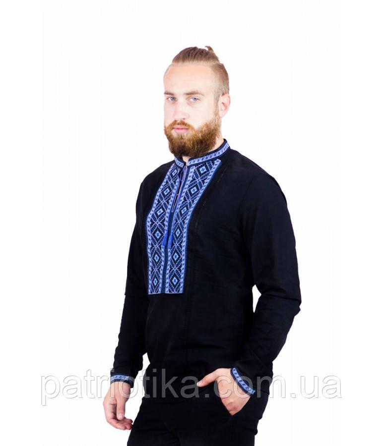 Рубашка вышитая мужская М-423-1 | Сорочка вишита чоловіча М-423-1