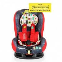 Детское автокресло от COSATTO Moova цвет Monster Arcade