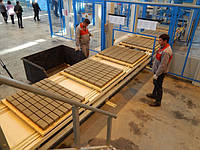 Установка для производства тротуарной плитки