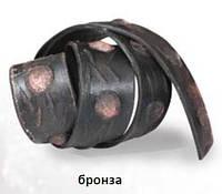 Ремень декоративный бронза 1м