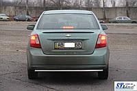 Chevrolet Lacetti Задняя защита AK002 42мм