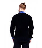 Рубашка вышитая мужская М-422-1 | Сорочка вишита чоловіча М-422-1, фото 3