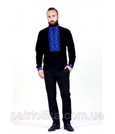 Рубашка вышитая мужская М-422-1 | Сорочка вишита чоловіча М-422-1, фото 2