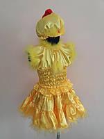 ПРОКАТ карнавальный костюм Цыпленок для девочки, р.98-116см