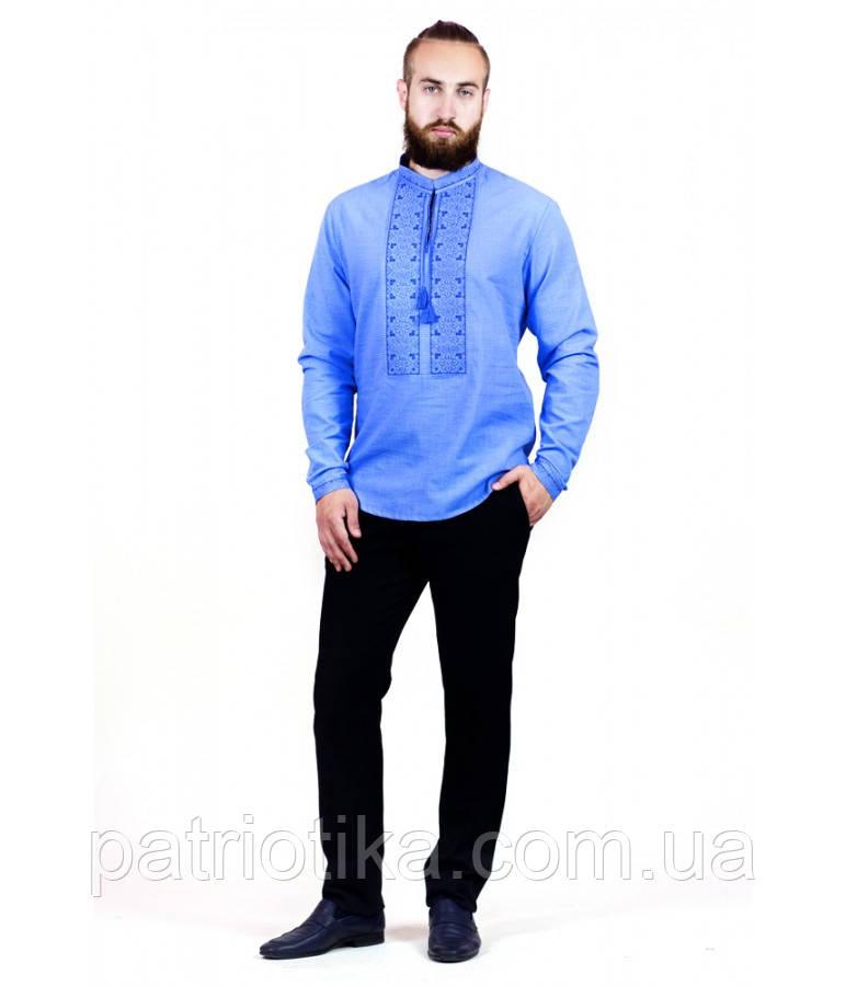 Рубашка вышитая мужская М-417-9   Сорочка вишита чоловіча М-417-9