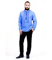 Рубашка вышитая мужская М-417-9 | Сорочка вишита чоловіча М-417-9, фото 1
