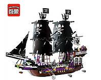 Конструктор Brick Legendary Pirates Огромный Пиратский корабль скелетов: 1456 деталей, 7 фигурок, фото 1