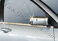 Mitsubishi Lancer 9 Накладки на зеркала хромированный пластик