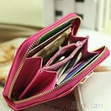 Жіночий гаманець леді Puese Light Pink, фото 2