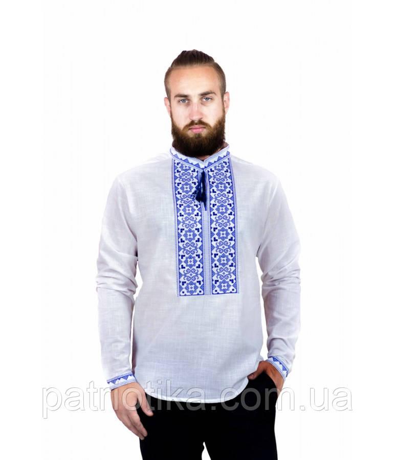 Рубашка вышитая мужская М-417-8 | Сорочка вишита чоловіча М-417-8