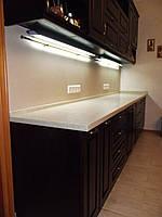 Столешница для кухни на заказ из акрилового камня