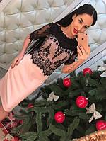Платье гипюр 06